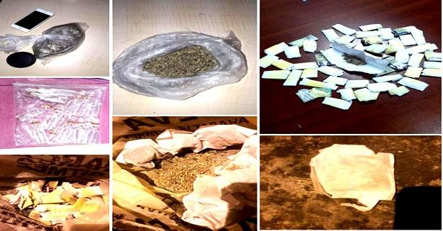 Bartın'da Narkotik ekiplerinden torbacılara operasyon
