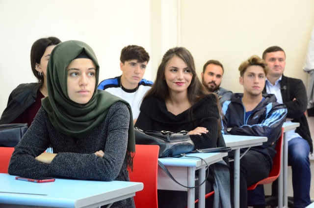 Bartın Üniversitesi Yabancı Diller Yüksekokulu'nda ilk ders