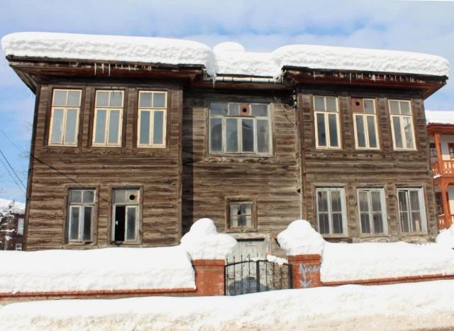 Kar Altında Bartın Evleri