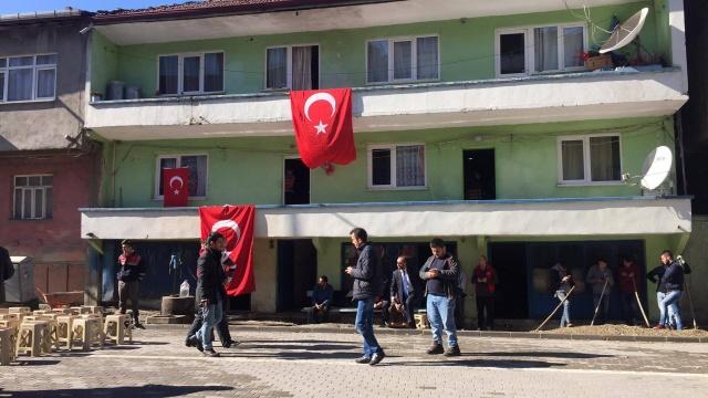 Zonguldak Karapınar'a Şehit Ateşi