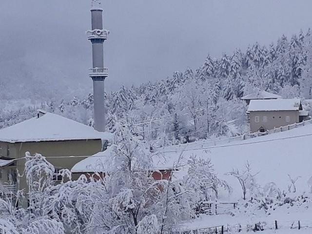 Bartın'dan Kar Manzaraları