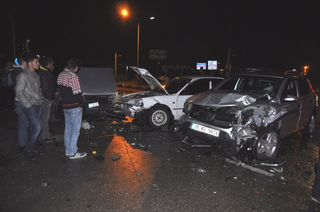 Bartın'da zincirleme kaza: 1 ölü, 2 yaralı