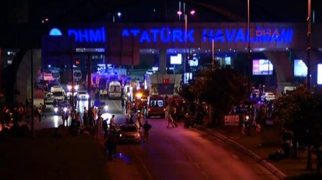 Atatürk Havalimanı'nda terör saldırısı