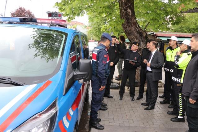 Bartın'da Karayolları Trafik Haftası Etkinlikleri