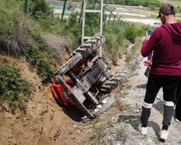 Bartın'da Traktör Kazası: 1 Yaralı