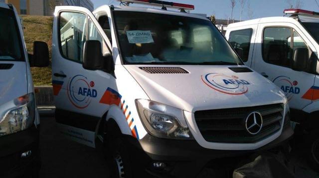 Bartın AFAD'a Yeni Arama Kurtarma Aracı