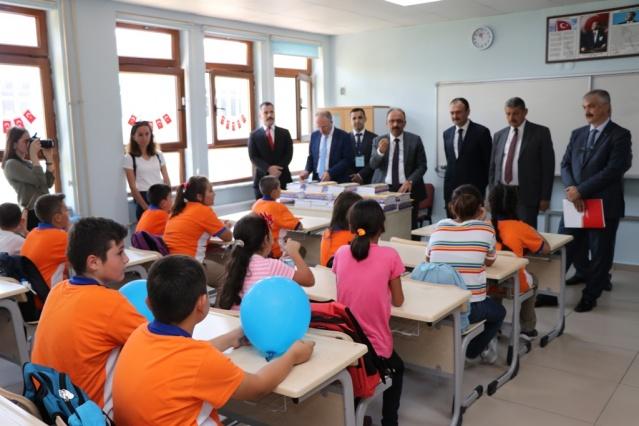 Bartın'da 2019-2020 Eğitim-Öğretim Yılı Ders Zili Çaldı