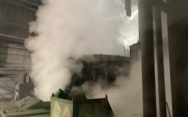 Bartın'da demir-çelik fabrikasında patlama: 5 yaralı