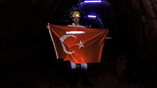 Bartın Amasra'da 800 Kişi İstiklal Marşı Okudu