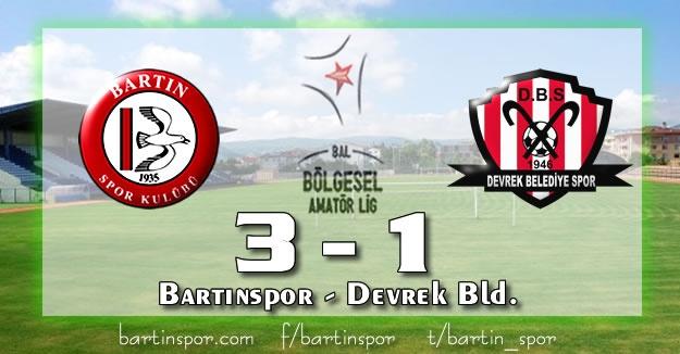 Bartınspor - Devrek Belediyespor