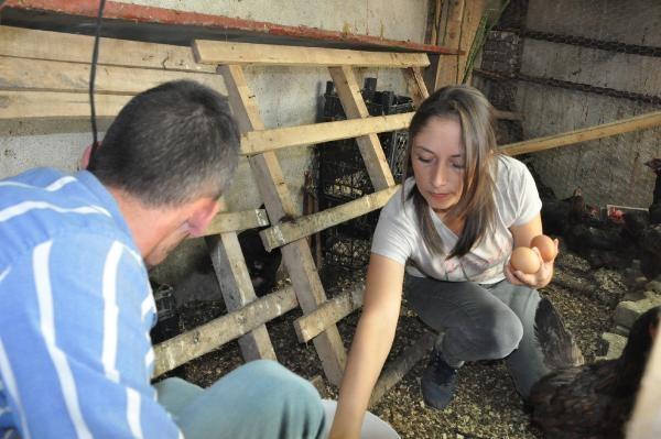 İstanbul'dan köyüne döndü, şimdi yumurta satıyor