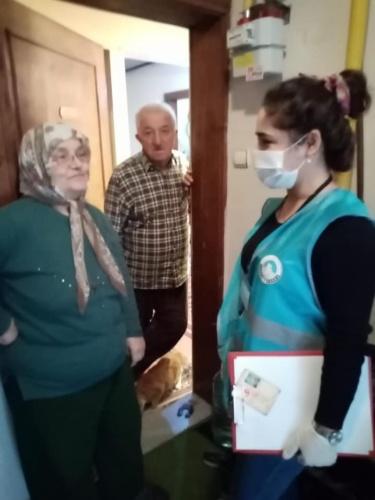 Bartın'da Yaşlılara Vefa Desteği