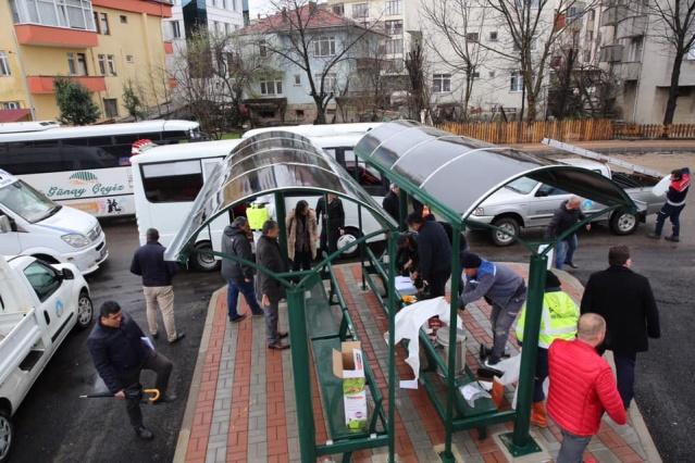 Bartın'da Tüm Toplu Taşıma Araçları Dezenfekte Ediliyor