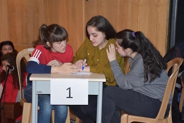 Bartın'da Gençler Arası Bilgi Yarışması
