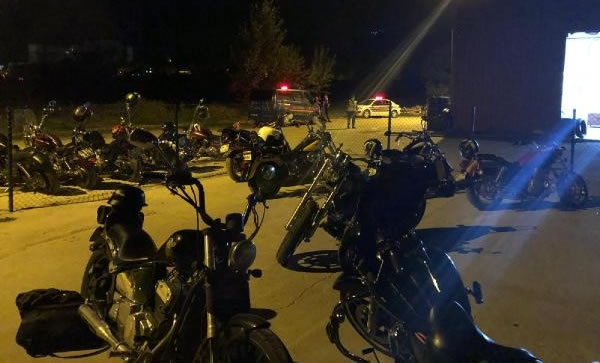 Bartın'da Etkinlik Yapan Motorculara Yüklü Ceza