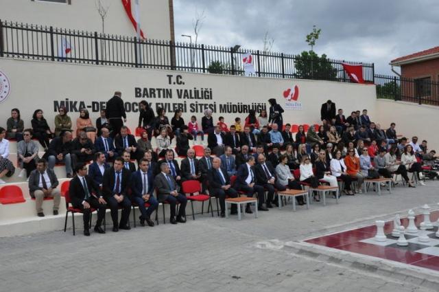 Bartın'da, MİKA-DER Çocuk Evleri açıldı