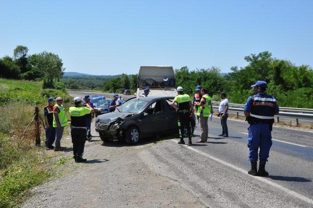Bartın'da Otomobil dere yatağına uçtu: 2 ölü, 3 yaralı