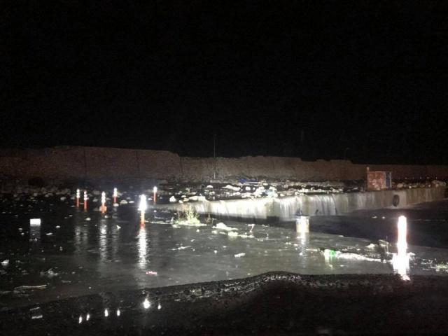 Bartın'da Şiddetli Fırtına