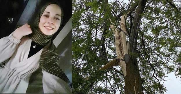 Üniversiteli genç kız, yıldırım düşmesi sonucu öldü