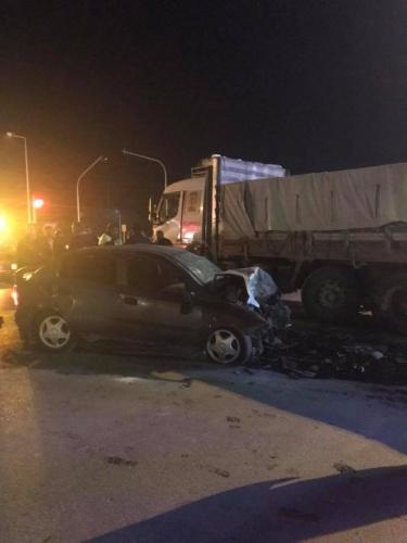 Bartın'da zincirleme kaza: 2 ölü, 4 yaralı