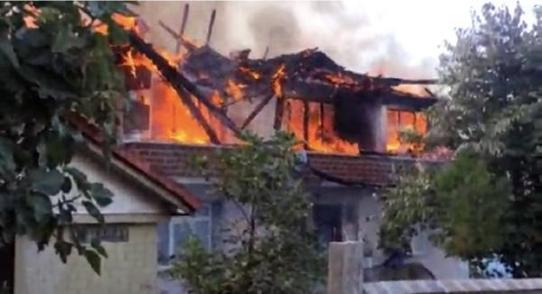 Bartın'da Köy Evinde Yangın