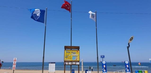 Bartın'da 3 Mavi Bayrak Göndere Çekildi
