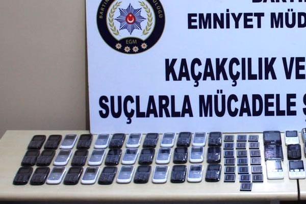 Bartın'da Klonlanmış Kaçak Cep Telefonu Operasyonu