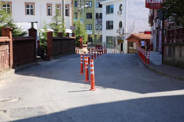 Bartın'da Park Sorunu Delinatörlerle Çözülüyor