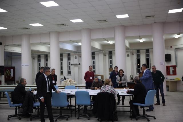 Bartın'da geçersiz oylar sayıldı