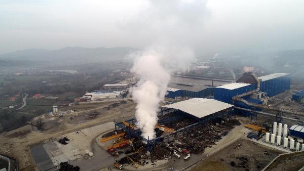 Bartın'da Fabrika Yangını