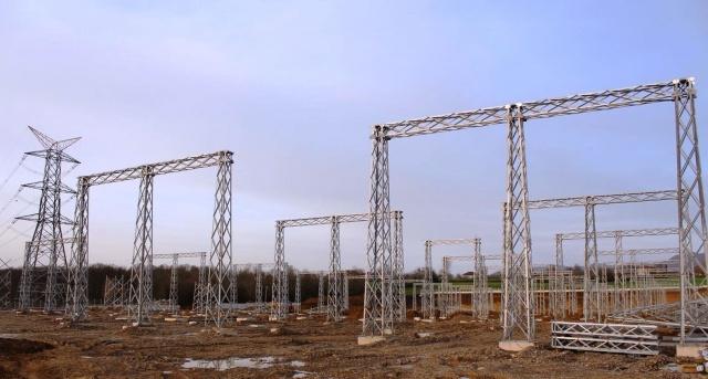 Bartın'da 380 KV'lık indirici trafo merkezi tamamlanıyor