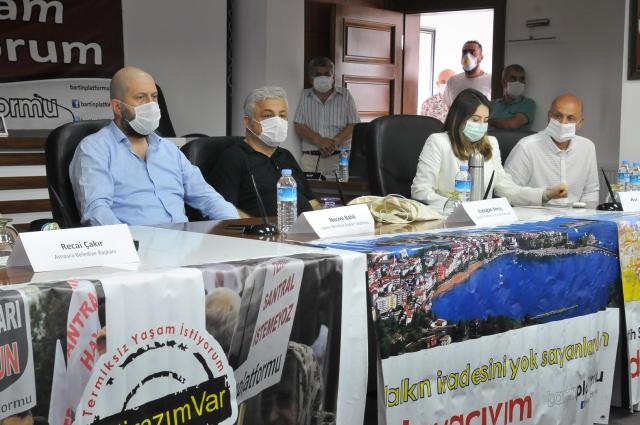 Amasra'da STK'lardan Bakan Kurum'a Çağrı