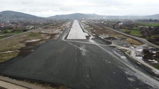 Zonguldak Havaalanı Pisti Genişletildi