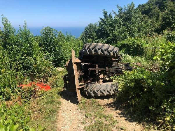 Bartın'da Traktörün altında kalan orman işçisi öldü