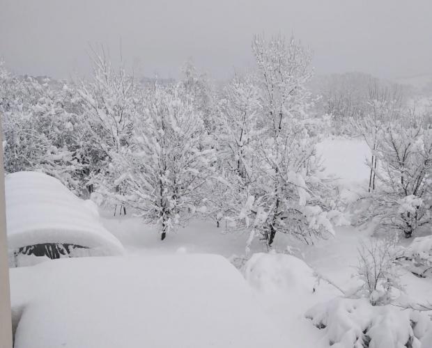 Bartın'da Kar Yağışı Etkili Oluyor