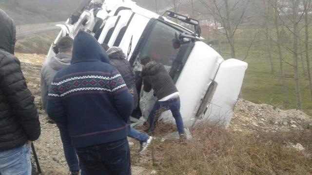 Bartın-Çakraz yolunda kaza