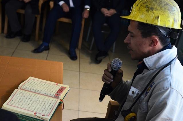 Bartın'da Şehit Madenciler için Kuran-ı Kerim Okutuldu