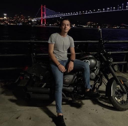 Bartınlı Genç Motosiklet Kazasında Öldü