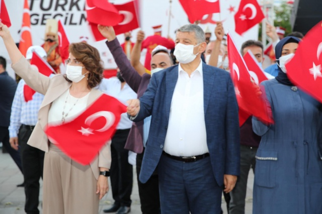 Bartın'da Milli Birlik Yürüyüşü