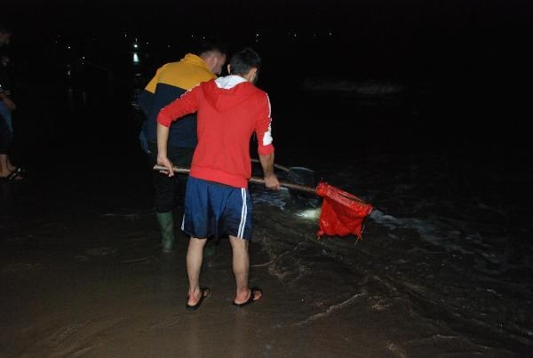 Bartın'da Sahile Koşanlar Eli Boş Döndü