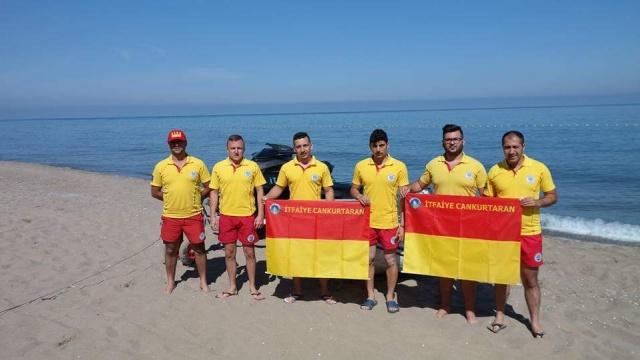 Bartın Plajlarında Cankurtaranlar 188 kişiyi kurtardı