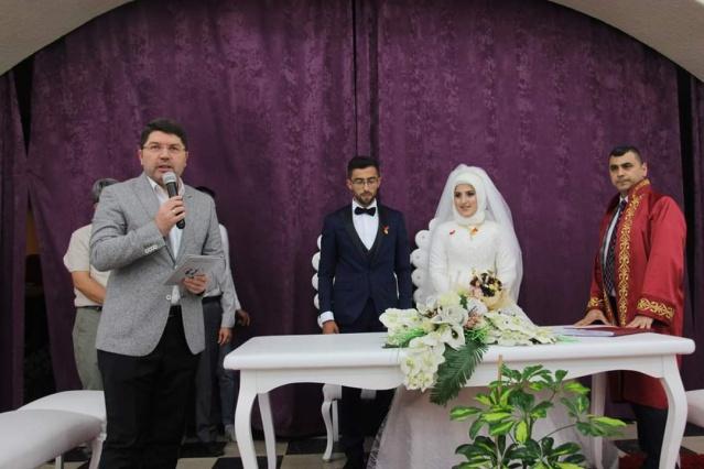 Büşra ile Fatih dünyevine girdi