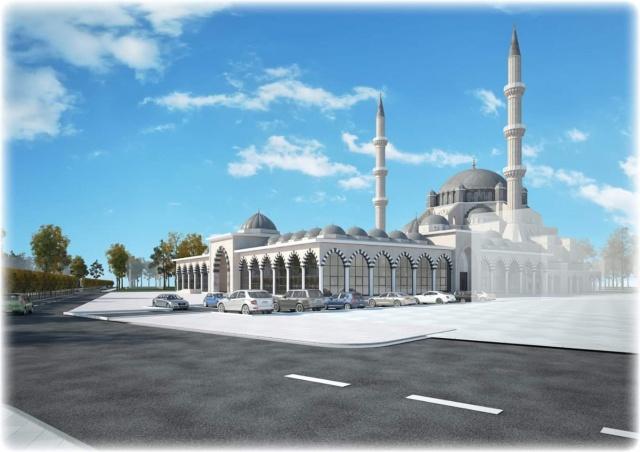 İşte Bartın Merkez Camii
