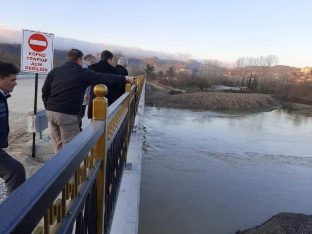 Bartın'da TOKİ Köprüsü Tamamlanıyor