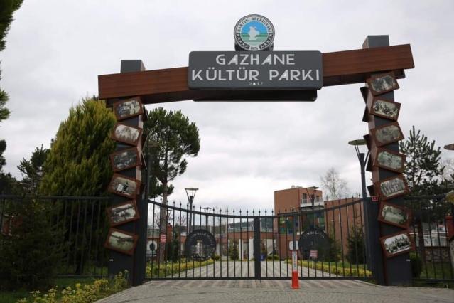 Gazhane Parkı Kapatıldı