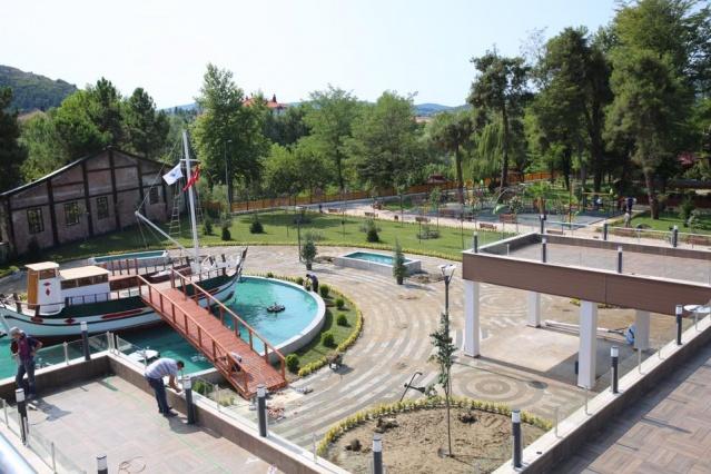 Bartın Gazhane Kültür Parkında çalışmalar