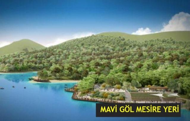 Kozcağız'a Mavi Göl Mesire Alanı