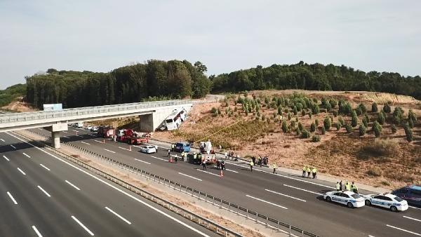 Feci kazada 5 kişi öldü, 7'si ağır 25 kişi yaralandı