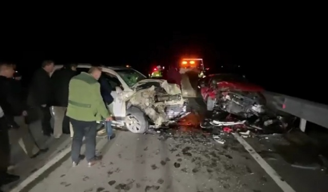 Bartın'da Feci Kaza: 5 Yaralı