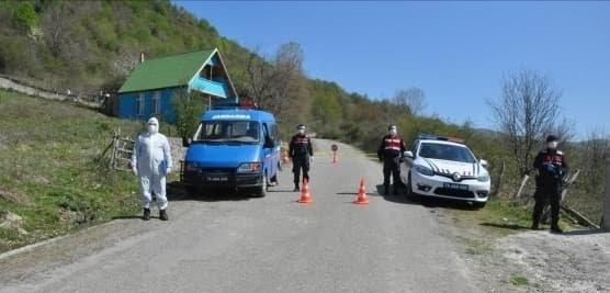 Bartın'da 150 Haneli Köyde Jandarma Önlem Aldı